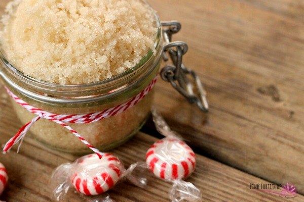 peppermint sugar scrub diy