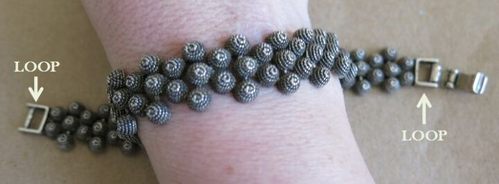 how to make a new necklace out of an old bracelet