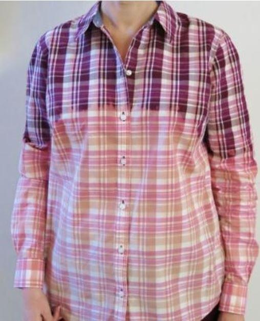 how to ombr bleach or bleach dye a shirt