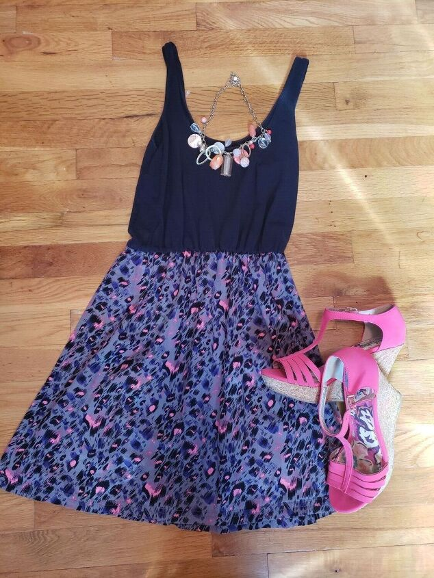 taking a sundress to a fall look two ways
