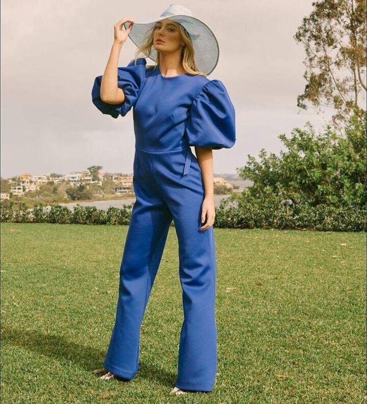 jumpsuits for women, Blue jumpsuit