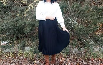 One Midi Skirt - 5 Ways (Perfect for the Holidays!)