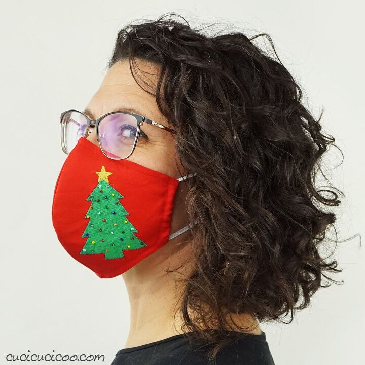 holiday face mask