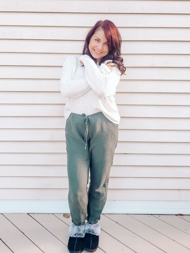 one week worth of sweats with style