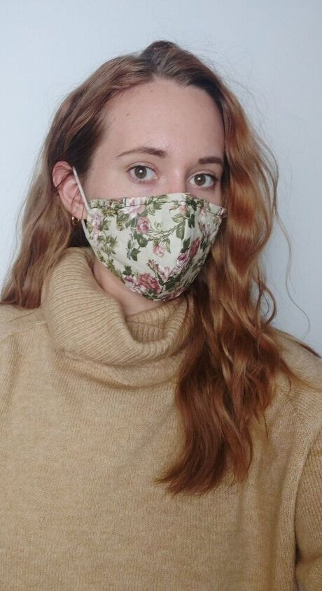 upcycle a single use mask into a reusable one