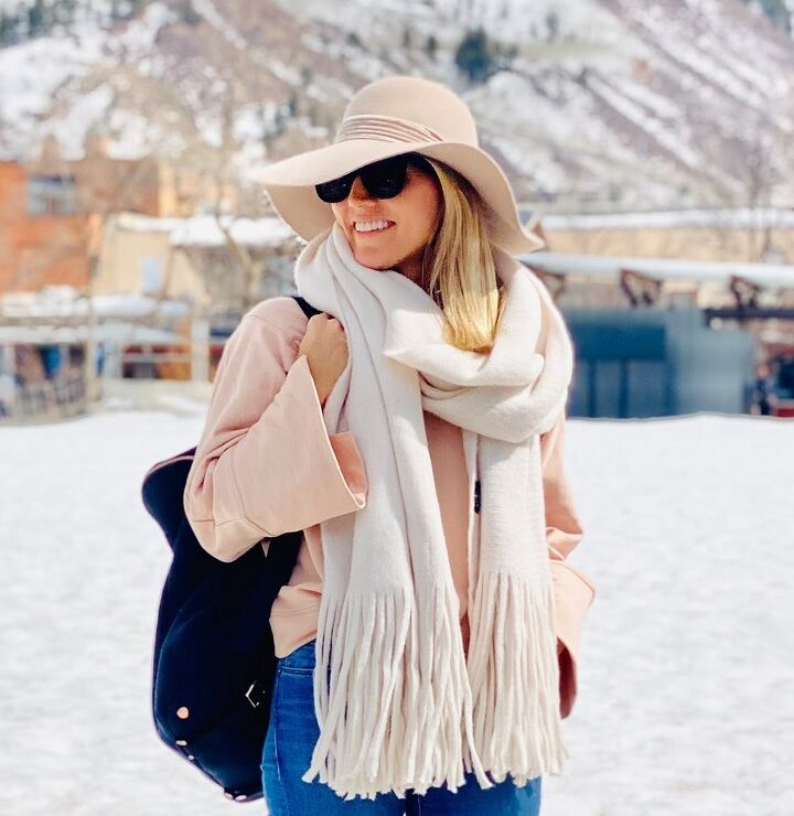 winter scarf, Off white oversized scarf