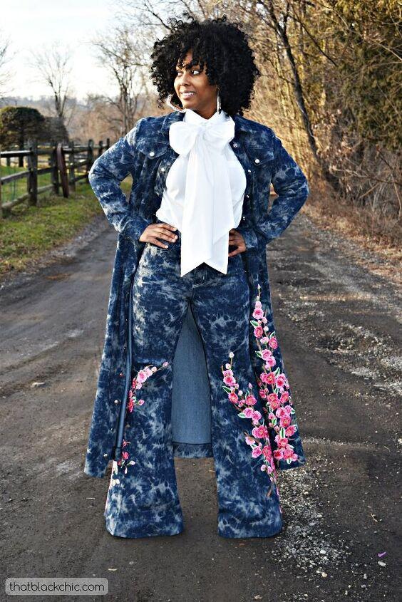 big bows bell bottoms diy birkin denim jeans burda denim maxi coat