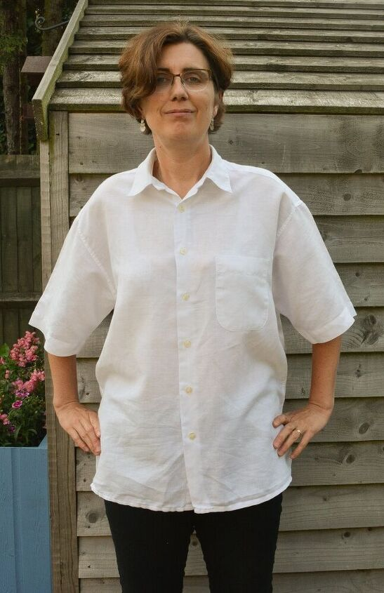 mens button down shirt refashion womens off the shoulder top