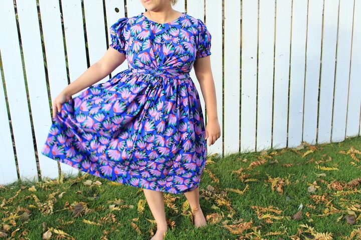 meridian dress with a twist