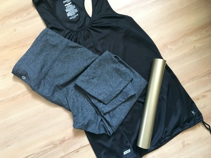 customize your yoga gear with iron on vinyl