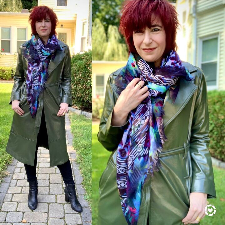 how to style scarves