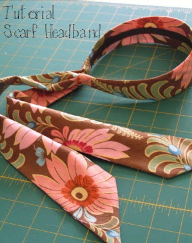 tutorial amy butler scarf headband