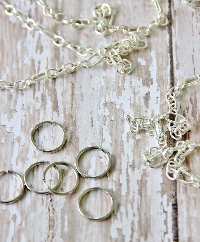 how to stamp a silver spoon necklace