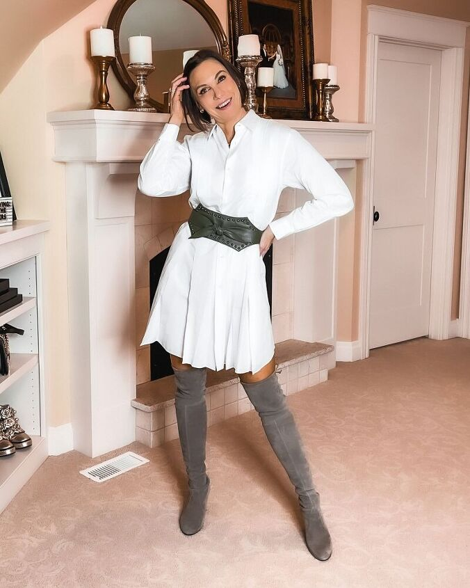 styling a shirtdress four ways