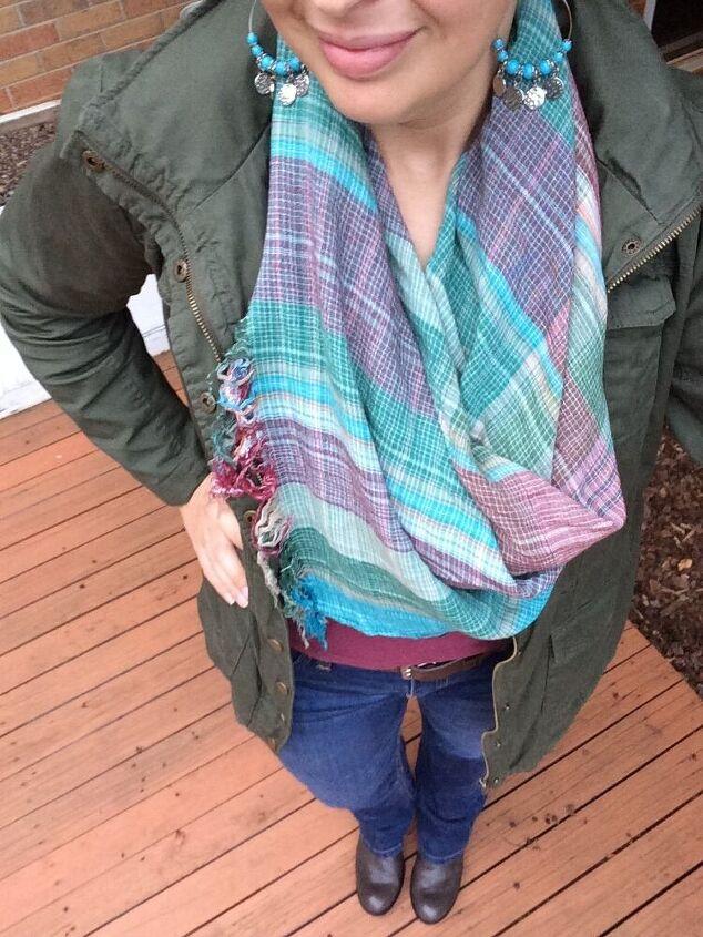 five ways to wear a scarf