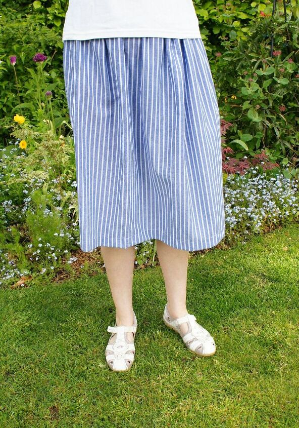 sew your own super simple skirt