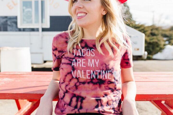 reverse tie dye anti valentine s day shirt video