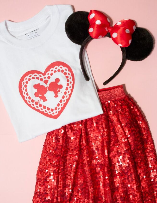 disney valentine s shirt diy