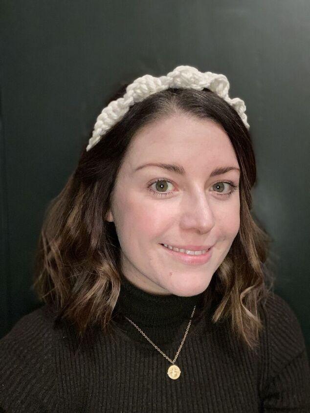 easy no sew macrame headband tutorial