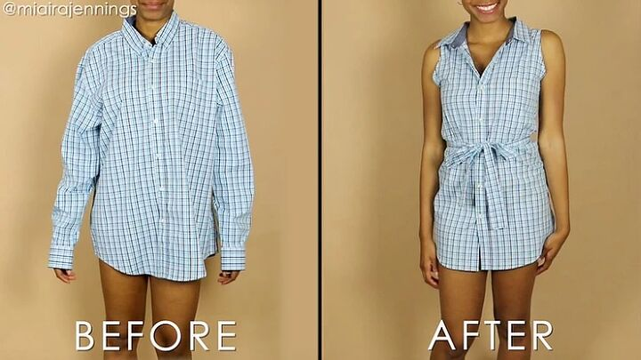 diy button up sleeveless dress beginners sewing