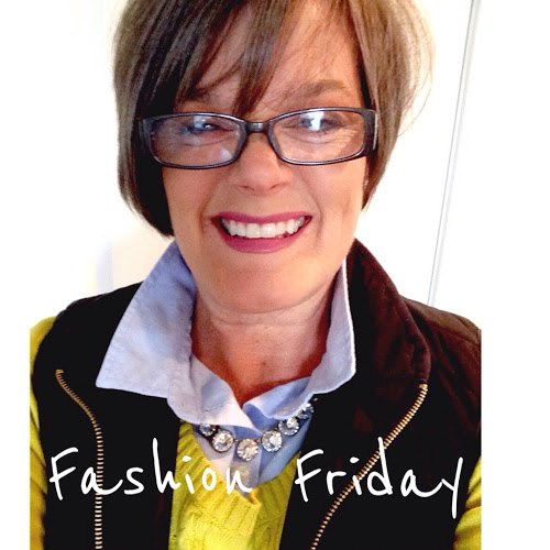 fashion friday houndstooth pants and another outfit with the blue shi