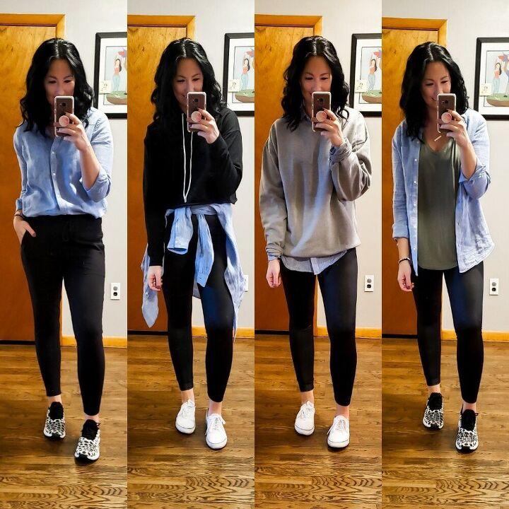 styling a chambray shirt multiple ways