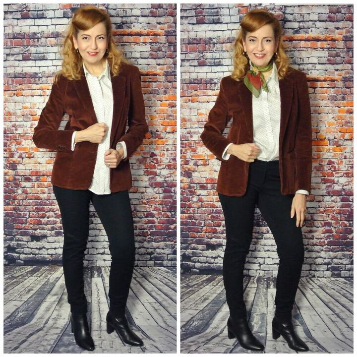six ways to style and accessorize a blazer