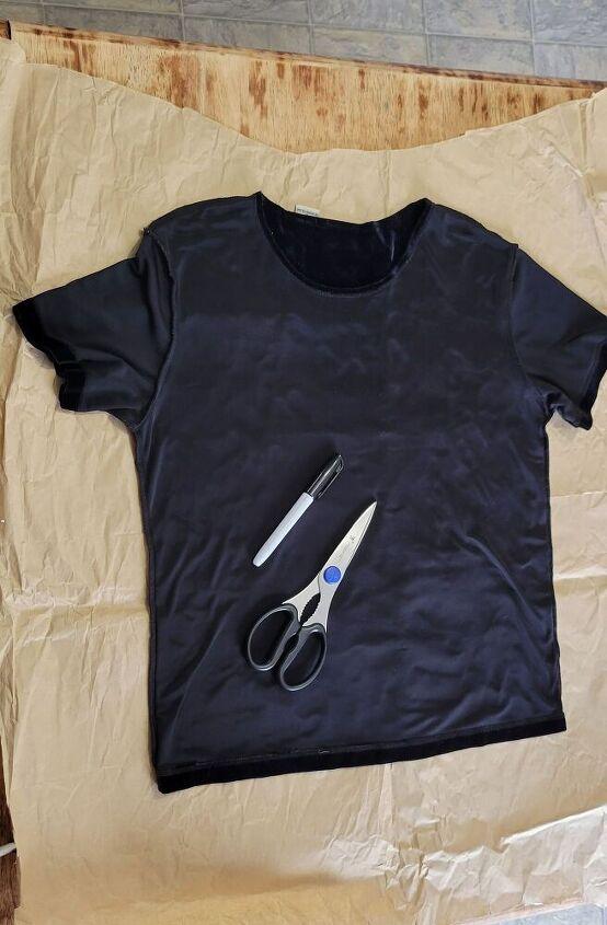 how to copy a shirt, Step 1