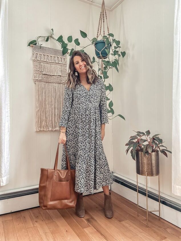 how to style any midi dress as we transition to spring