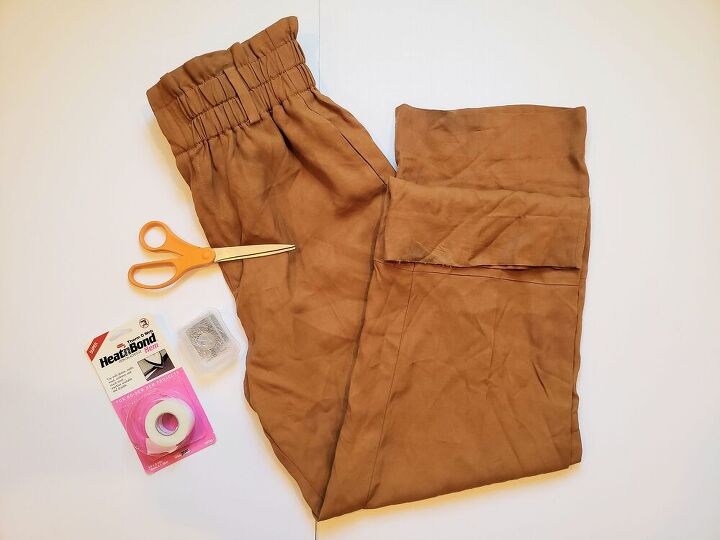 no sew custom hemmed pants