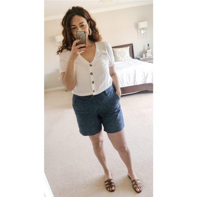 ways to wear shorts again