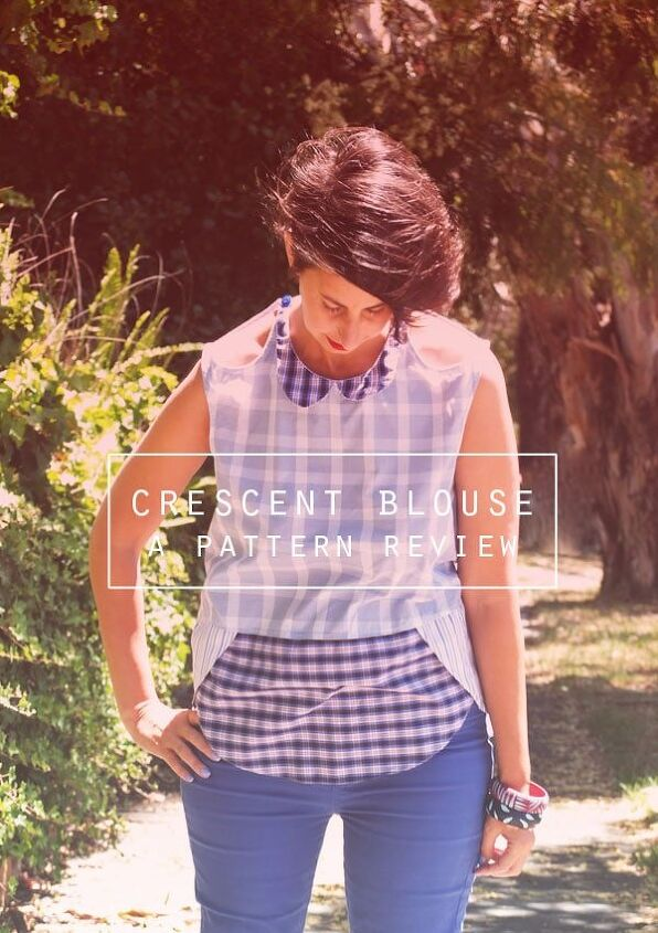 upcycle old business shirts and make a new blouse the crescent blo