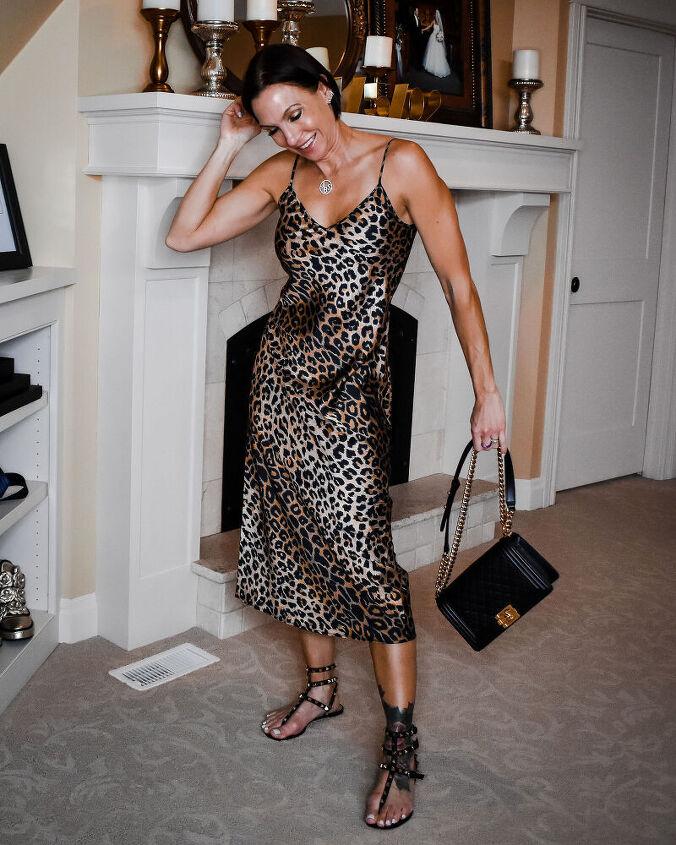 4 ways to style a slip dress