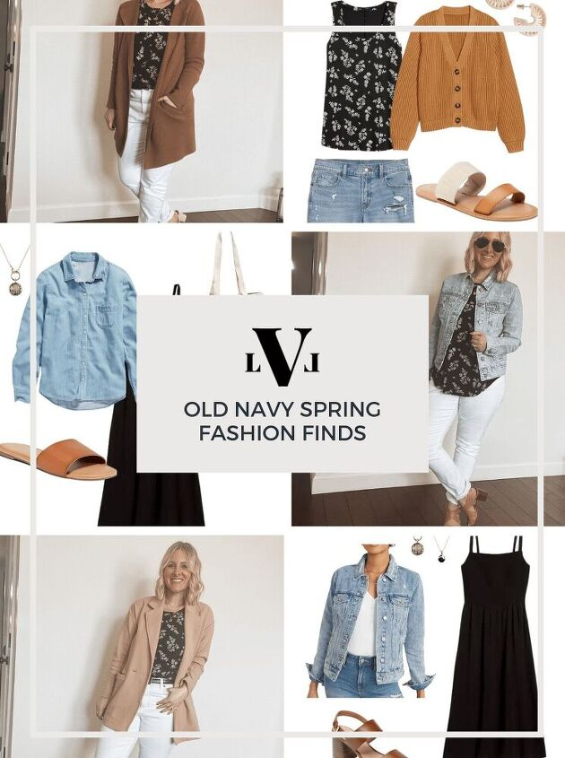 2021 spring outfit must haves from old navy