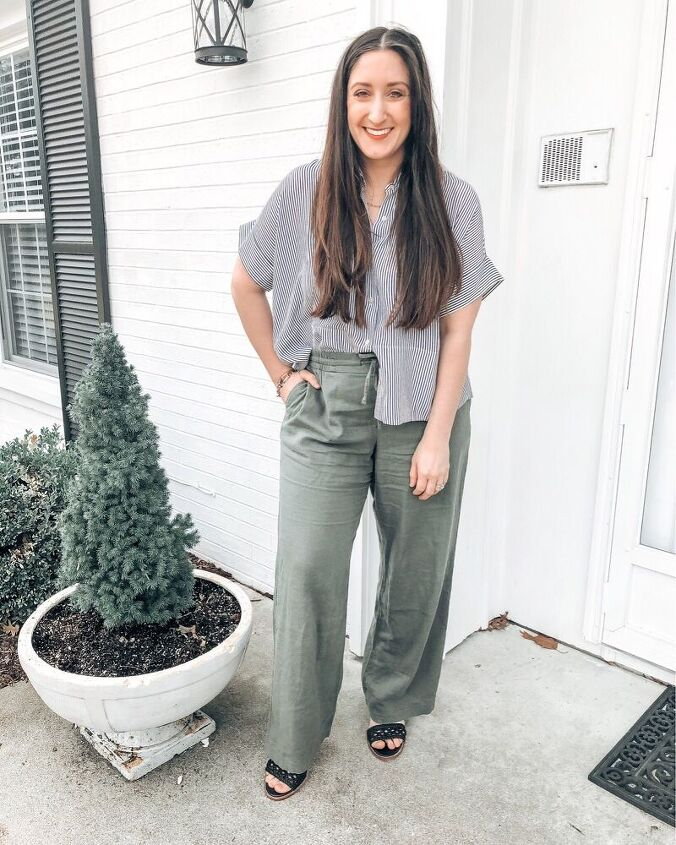 4 ways to style linen pants for spring