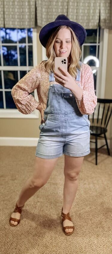 1 pair of overalls 3 different styles