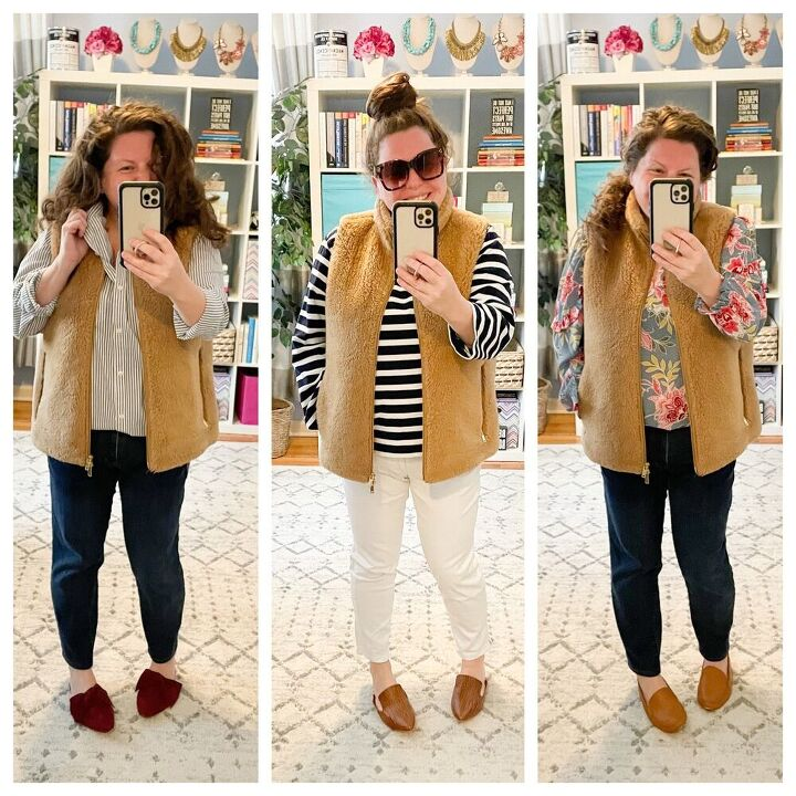 how to style a teddy vest