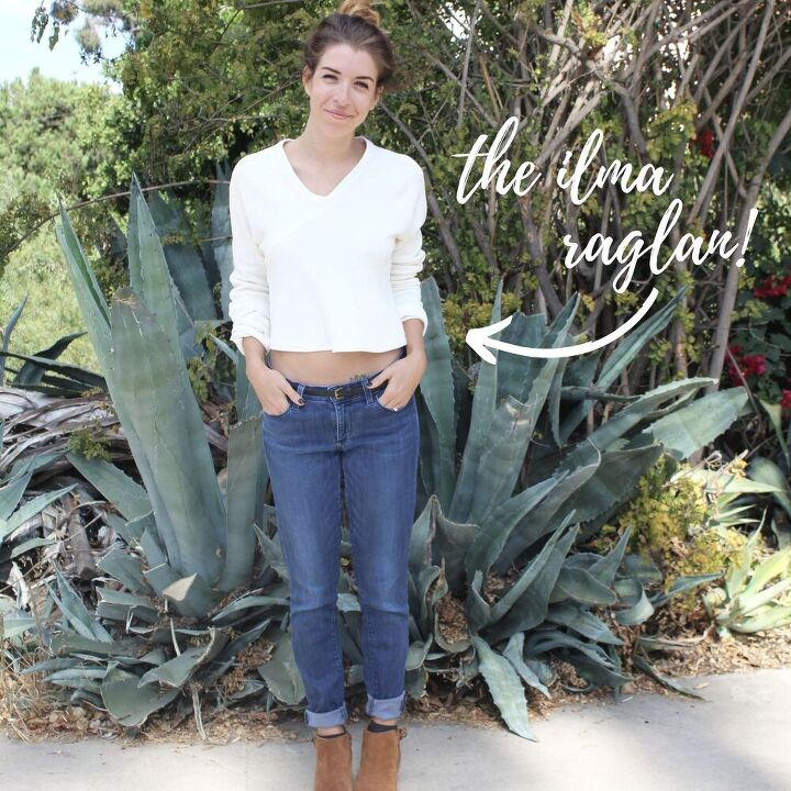 how to sew a knit seam binding the ilma raglan sewing tutorial the