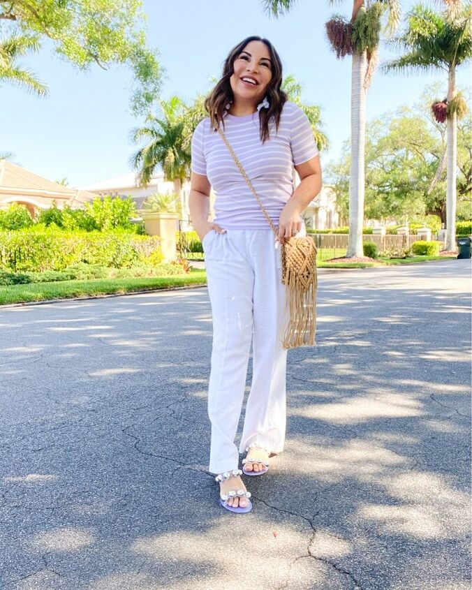 styling linen pants