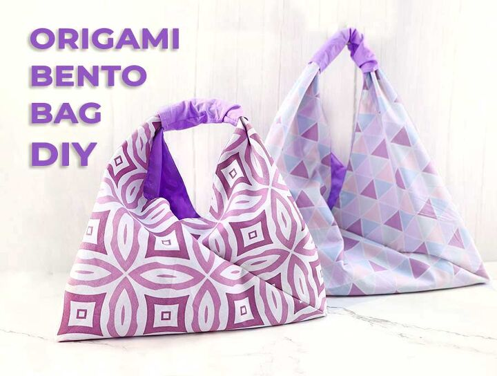 diy stylish origami bag in 20 minutes
