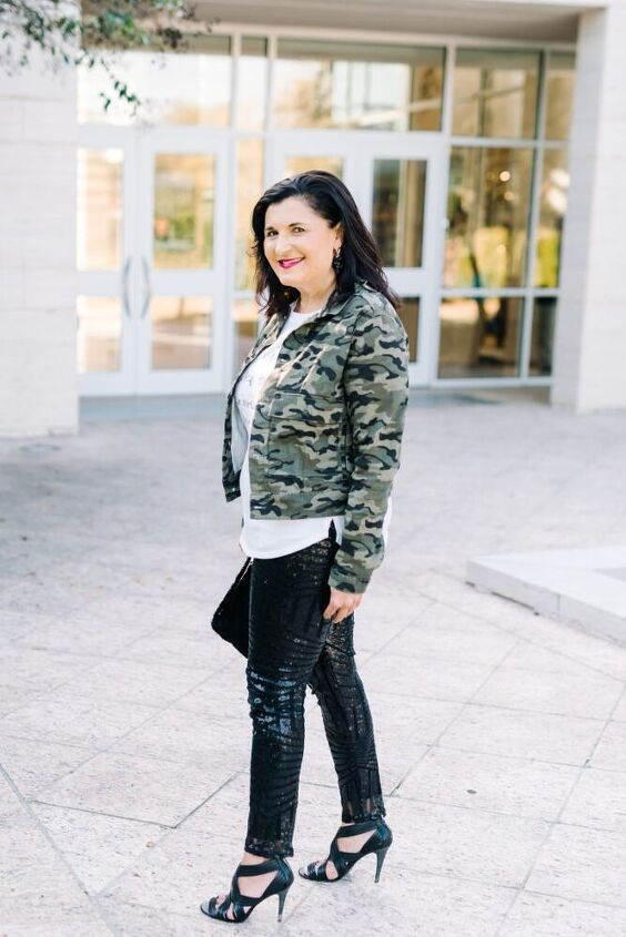 how to style sequin pants for a casual look