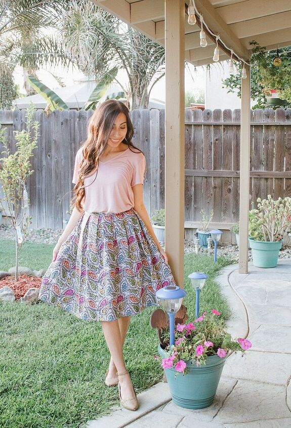 how to sew a pleated skirt pretty pleated skirt update