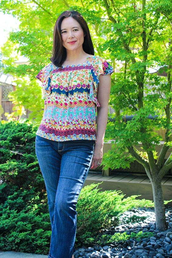 pattern review chirripo top by itch to stitch