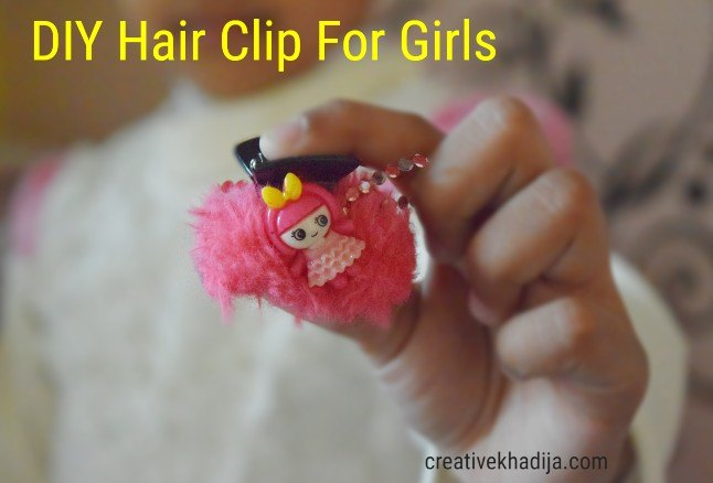 5 minute crafts for kids diy girls hair clip