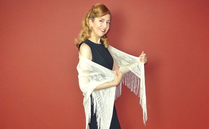 one shawl 5 ways