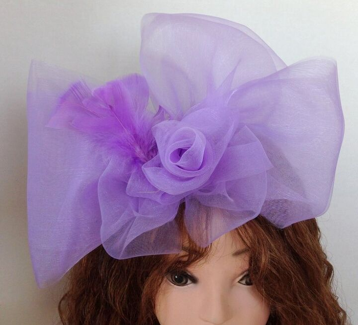 how to make an ultra chic bow fascinator