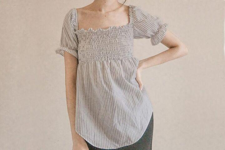 how to transform a shirt into a cute top