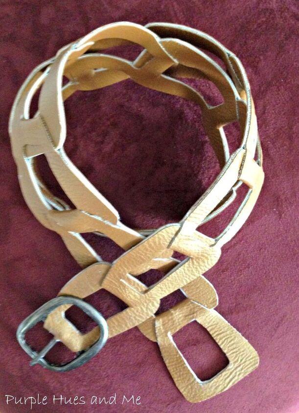 diy fashion belt shopping my stash