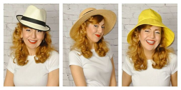 picking a summer hat