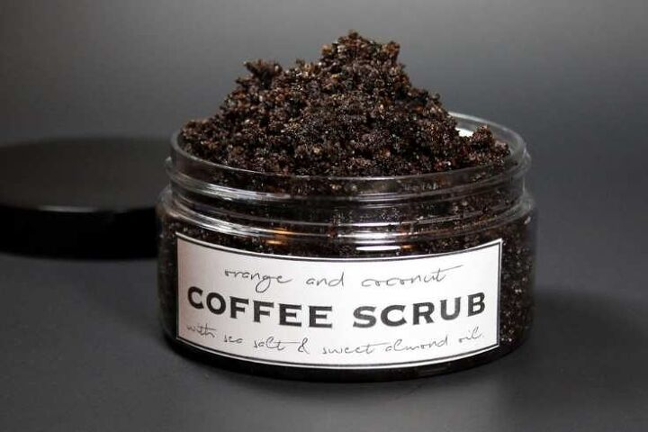 how to make coffee scrub for cellulite stretch marks without coconut